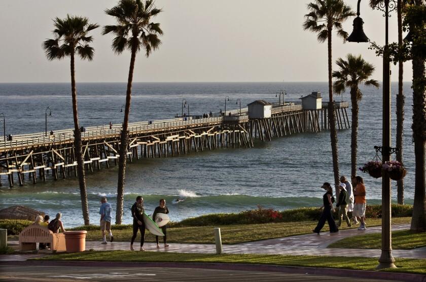 San Clemente Pier in Orange County