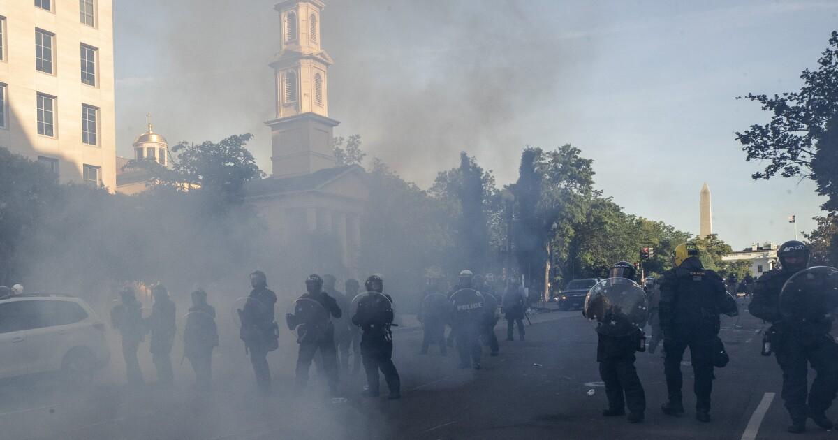 Black Lives Matter loses suit over Trump's Lafayette Square walk