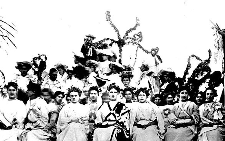 Rose Queen 1905, Hallie Woods
