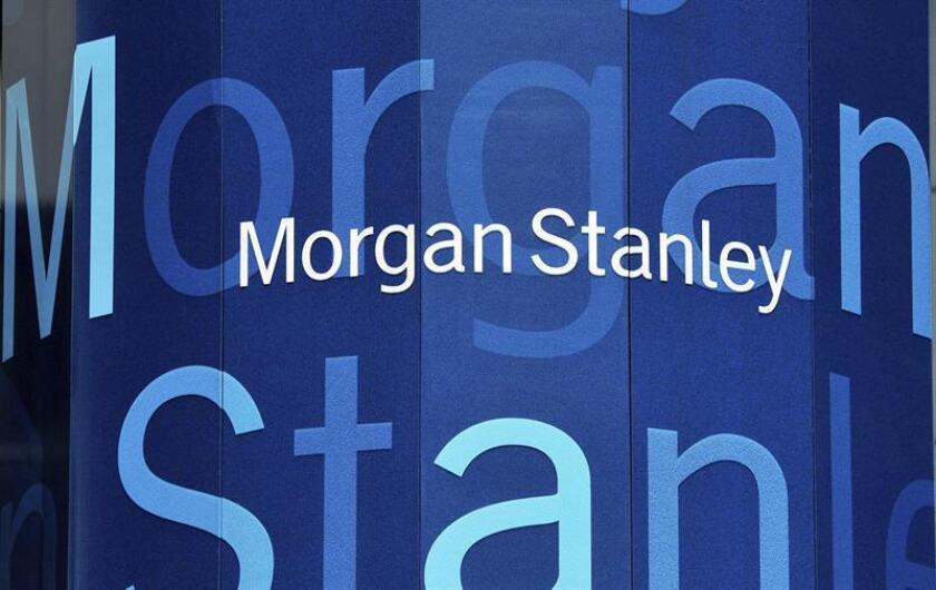 El grupo de gestión financiera Morgan Stanley anotó el año pasado un beneficio neto de 6.154 millones de dólares, un 3 % más que en 2016, a pesar de las provisiones fiscales que tuvo que hacer en el cuarto trimestre. EFE/Archivo