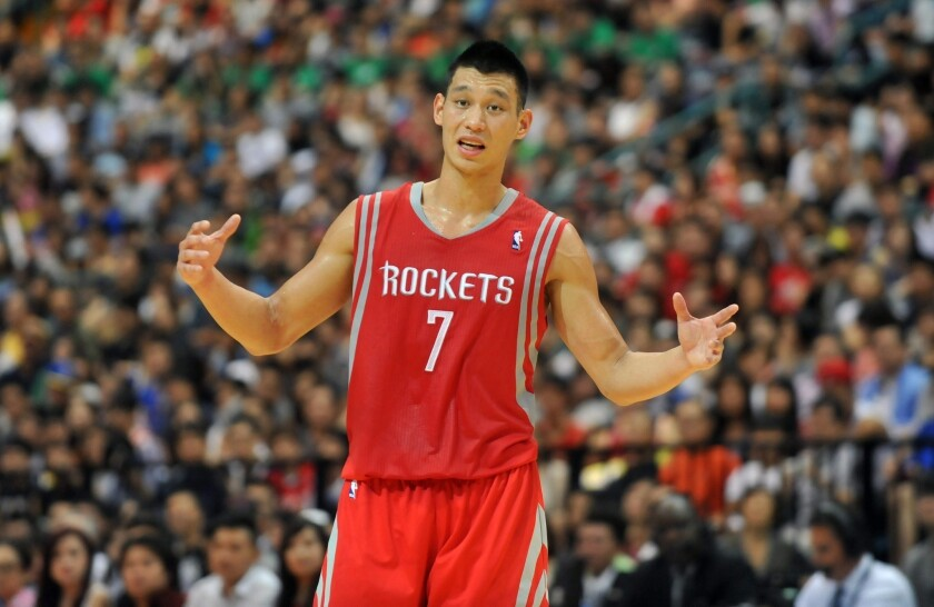 huge selection of 98aec 1794e Jeremy Lin might have reduced role with Houston Rockets this ...