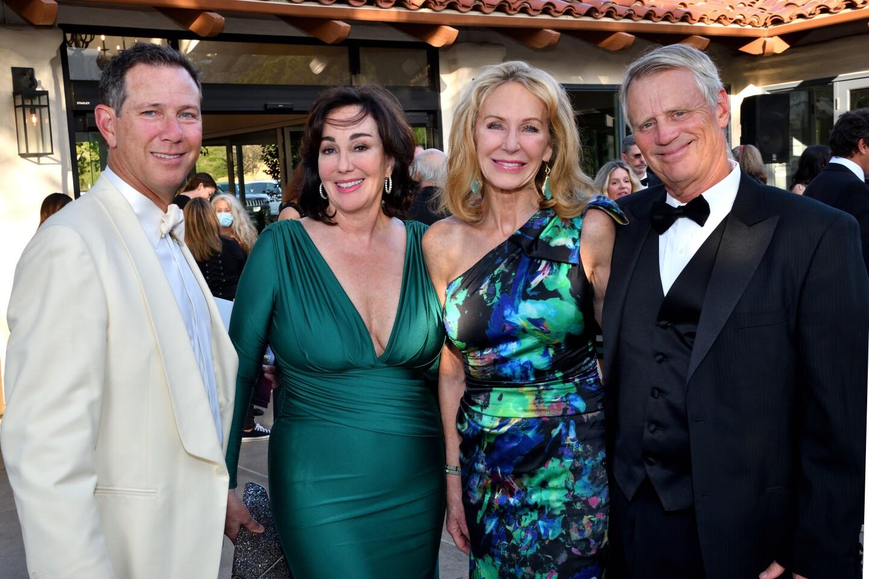 Brad and Sheila Jacobs, Mary Curran, Bob Dawson