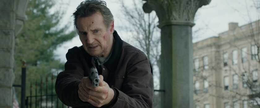 """In """"Honest Thief,"""" Liam Neeson is a bank robber who's taken with a local woman."""