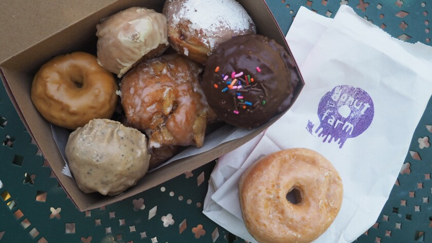 Doughnuts from the Donut Farm in Silver Lake.
