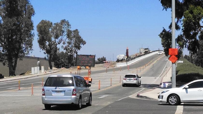 Red Hill Avenue bridge