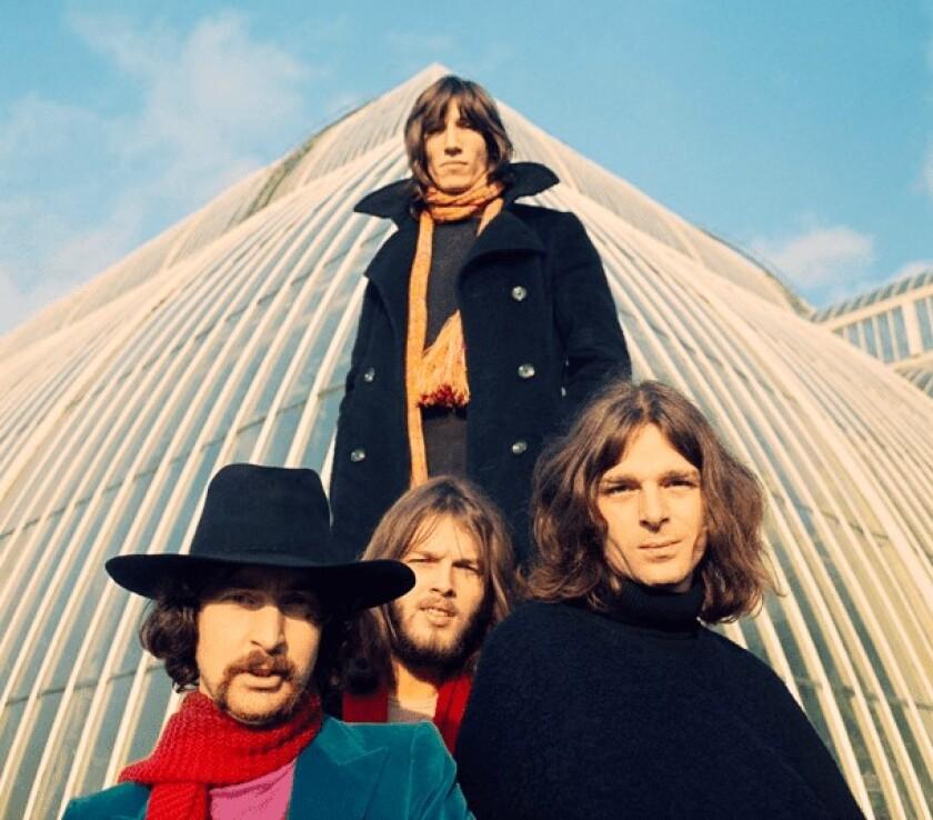 Pink Floyd en una imagen del pasado.