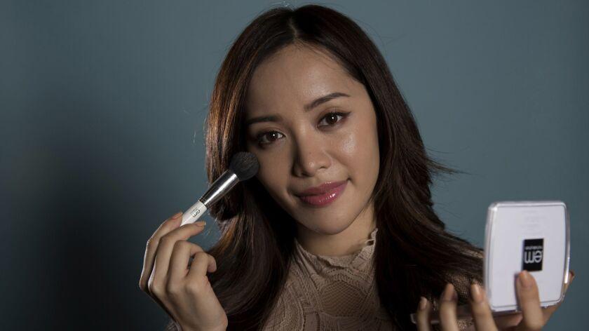 Makeup artist Michelle Phan.