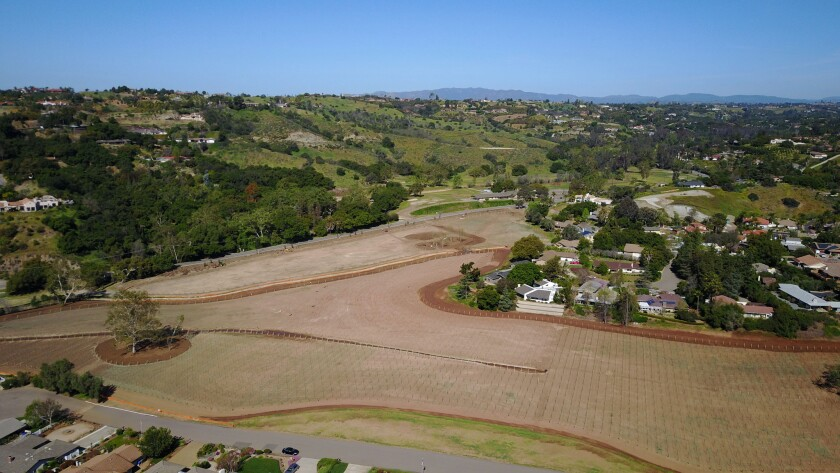 After more than 50 years as the Fallbrook Golf Club, the course was recently shuttered and sold. It is being transformed into a high-end vineyard and wine making operation.