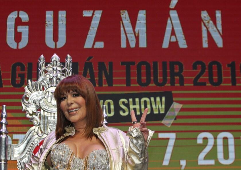 La cantante mexicana Alejandra Guzmán presenta material discográfico en Ciudad de México