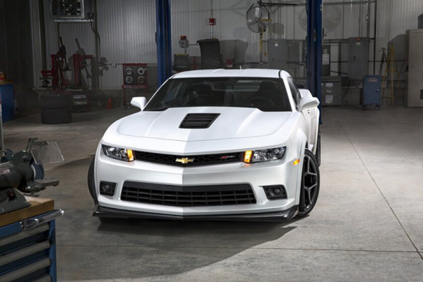 White was the most popular car color worldwide and in North America last year, according to auto paint company PPG Industries. Above, a white 2014 Chevrolet Camaro Z28.