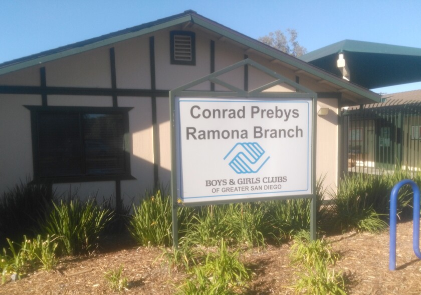 The Conrad Prebys Ramona Branch of the Boys & Girls Clubs reopens in August; registration begins July 26.