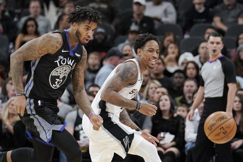Warriors Spurs Basketball