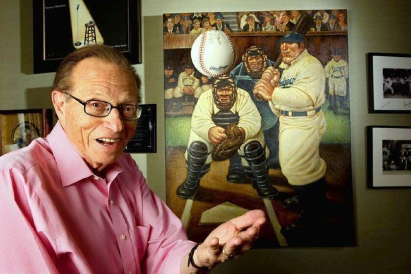 Larry King is ready to do more talking -- on the Internet