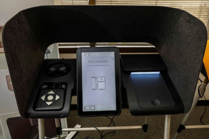 Voters in L.A. County used new equipment during last week's primary election.