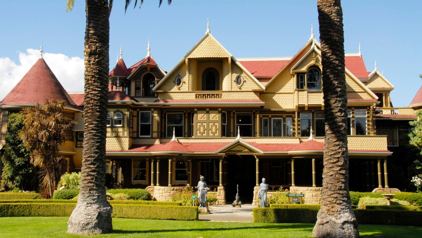 The Winchester Mystery House in San Jose has a creepy legacy. But were Mrs. Winchester's Victorian neighbors just spooked by a woman living alone?
