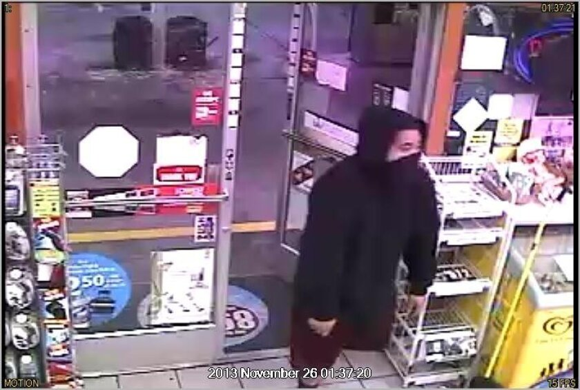 Oceanside police are searching for a serial robber and released surveillance photos of the man on Thursday.