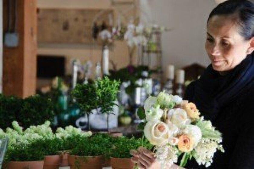 Isari Flower Studio owner, designer and stylist Tam Ashworth.