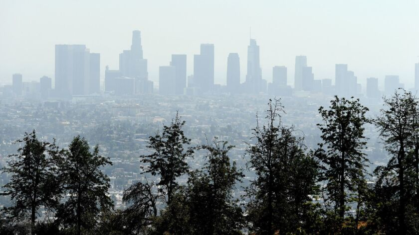 Essential California: A smoggy summer - Los Angeles Times