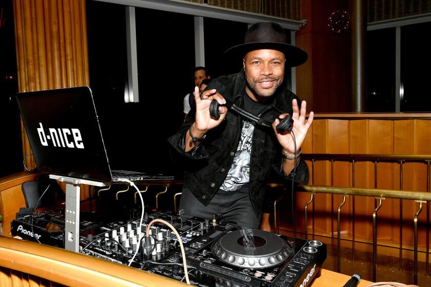 DJ D-Nice, shown in September in N.Y., hosted Saturday's #ClubQuarantine.