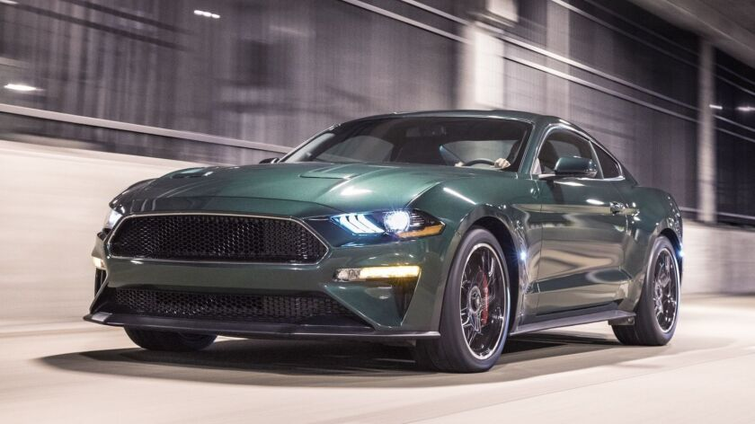 "The iconic 2019 Mustang Bullitt traces its roots to the legendary Highland Green 1968 Mustang GT fastback Steve McQueen thrashed in the action thriller ""Bullitt"" 50 years ago."