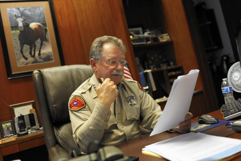 Kern County Sheriff Donny Youngblood is known for making controversial remarks.