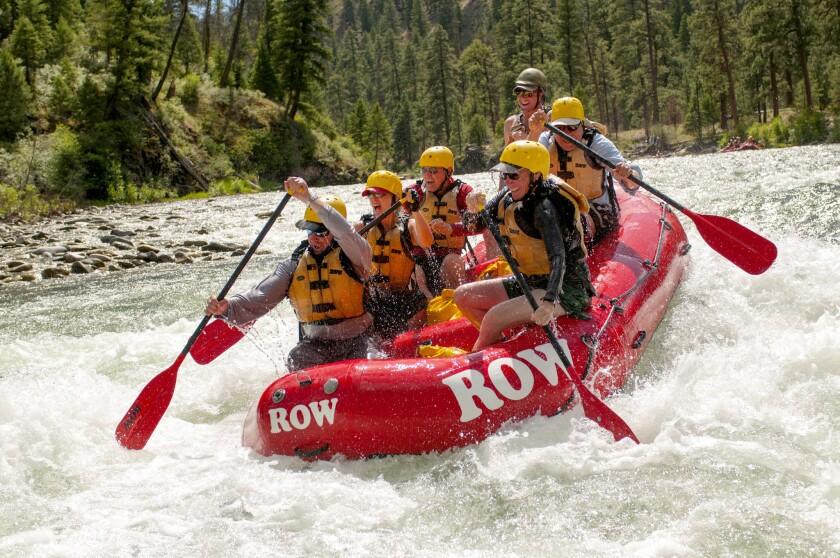 Waterfalls, rafting and more water fun