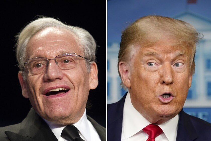 Readers React: Bob Woodward's Trump interview revelations should outrage  everyone - The San Diego Union-Tribune