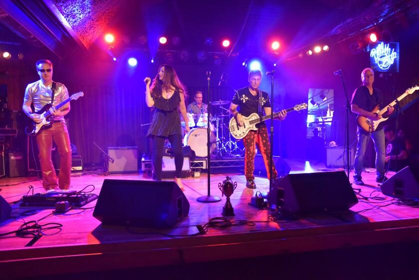 Shaken & Stirred performing