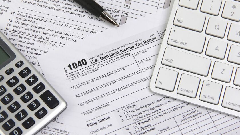 Extensions for filing income tax returns are available.