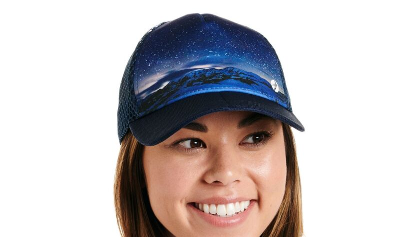 A running hat she?ll love The Starry Night Runner Trucker from Oiselle has the look of a traditional