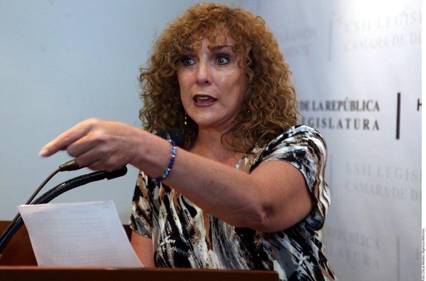 La senadora del PRD Luz María Beristain.