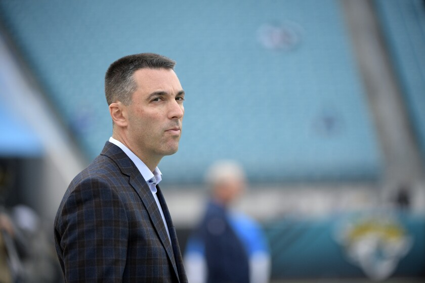 Chargers general manager Tom Telesco.