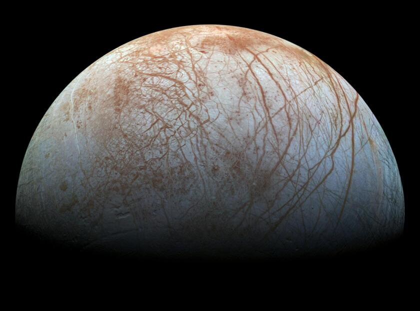The 2016 White House budget request would give NASA funding for a planned mission to Jupiter's icy moon Europa, though not as much as Congress allotted the mission for 2015.
