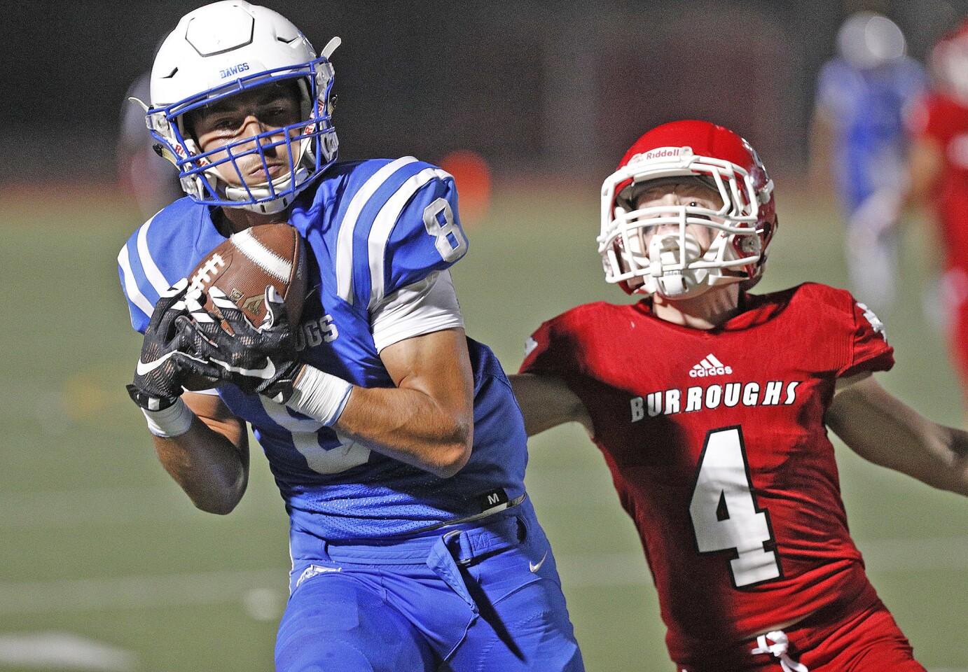 Photo Gallery: Pacific big game rivalry between Burbank and Burroughs football
