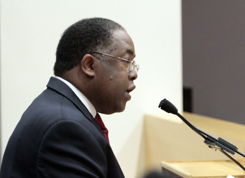 Los Angeles County Supervisor Mark Ridley-Thomas proposed the Open Data Initiative, which the board approved unanimously.