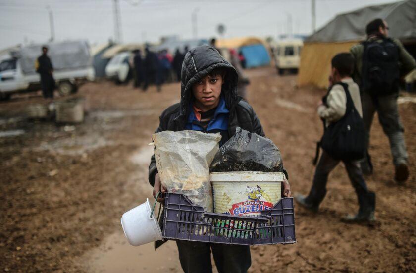 Fleeing Aleppo