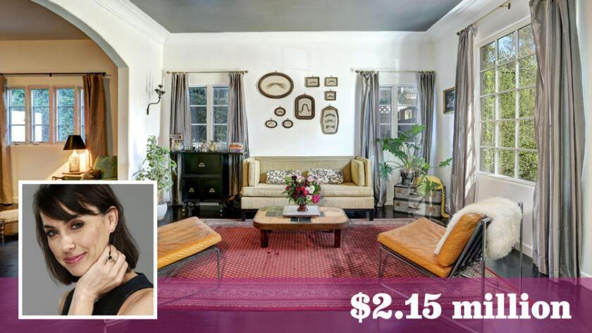 Zimmer sold her home in Studio City for $2.15 million.