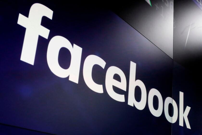 The logo for Facebook.