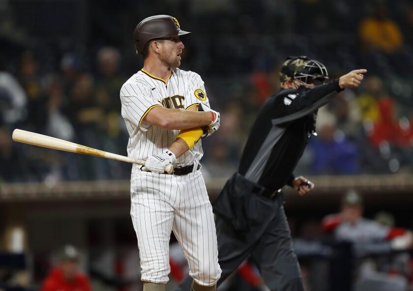 The Padres' Patrick Kivlehan