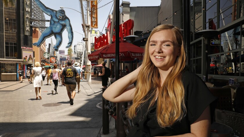 LOS ANGELES, CA JULY 17, 2018: Elsie Fisher
