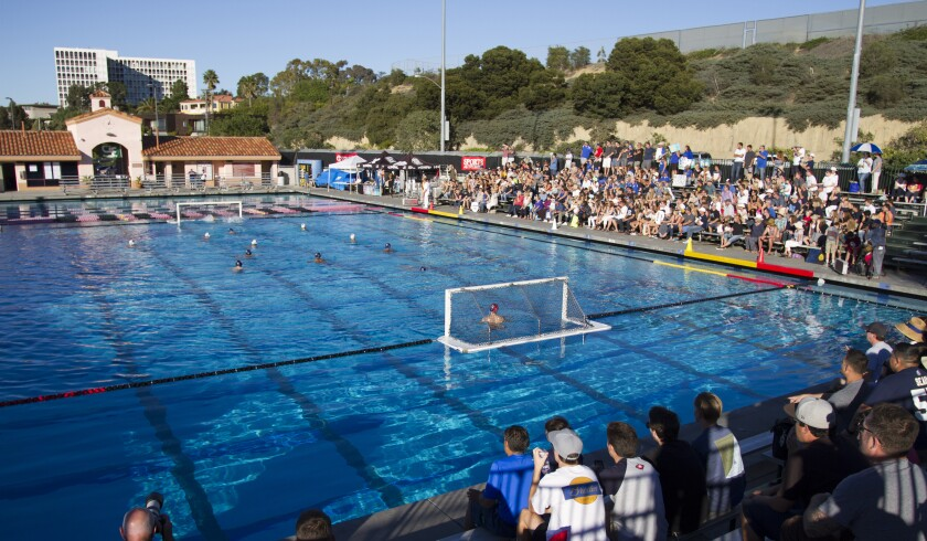 Eastlake and San Marcos fans packed the belachers as the two teams battled in La Jolla. Chadd Cady / San Diego Union-Tribune