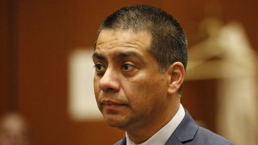 Los Angeles school board member Ref Rodriguez has stipulated that he is guilty of political money laundering in a filing posted by the city's Ethics Commission. The stage could be set for his resignation from office.