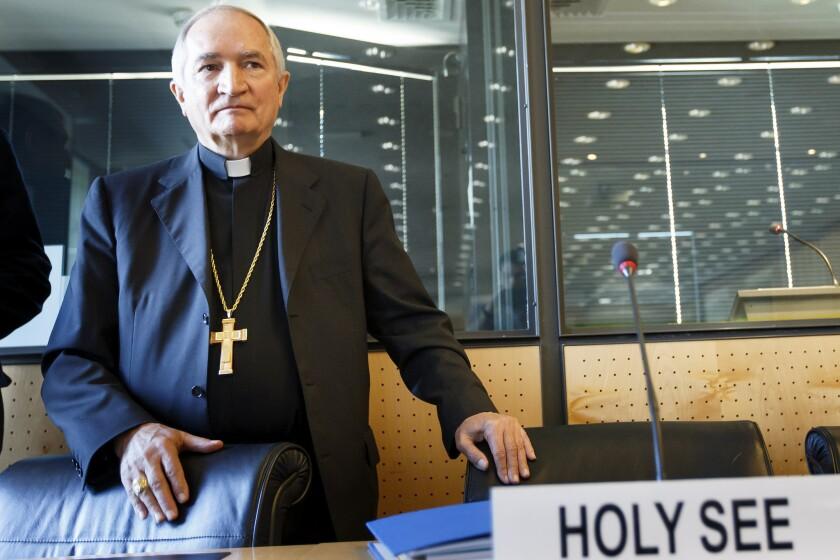 Switzerland Vatican U.N. abuse