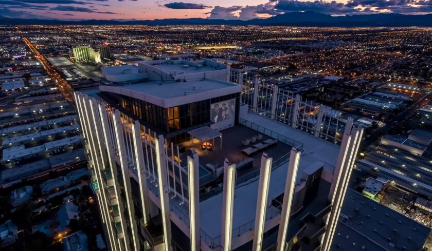 Phil Maloof's Las Vegas penthouse