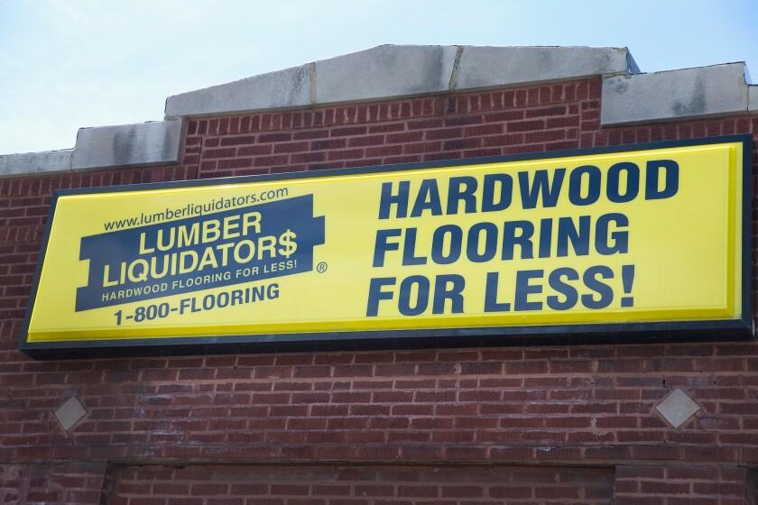Justice Dep't To File Criminal Charges Against Lumber Liquidators