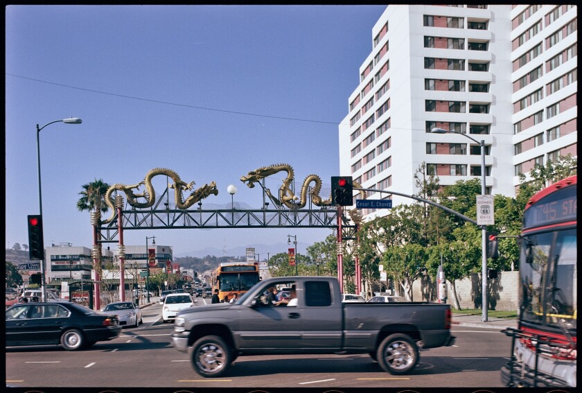 "Cesar Chavez Avenue, 2007, Ed Ruscha. From the ""Streets of Los Angeles"" archive."