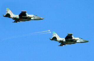 Two Ukraine fighter jets shot down
