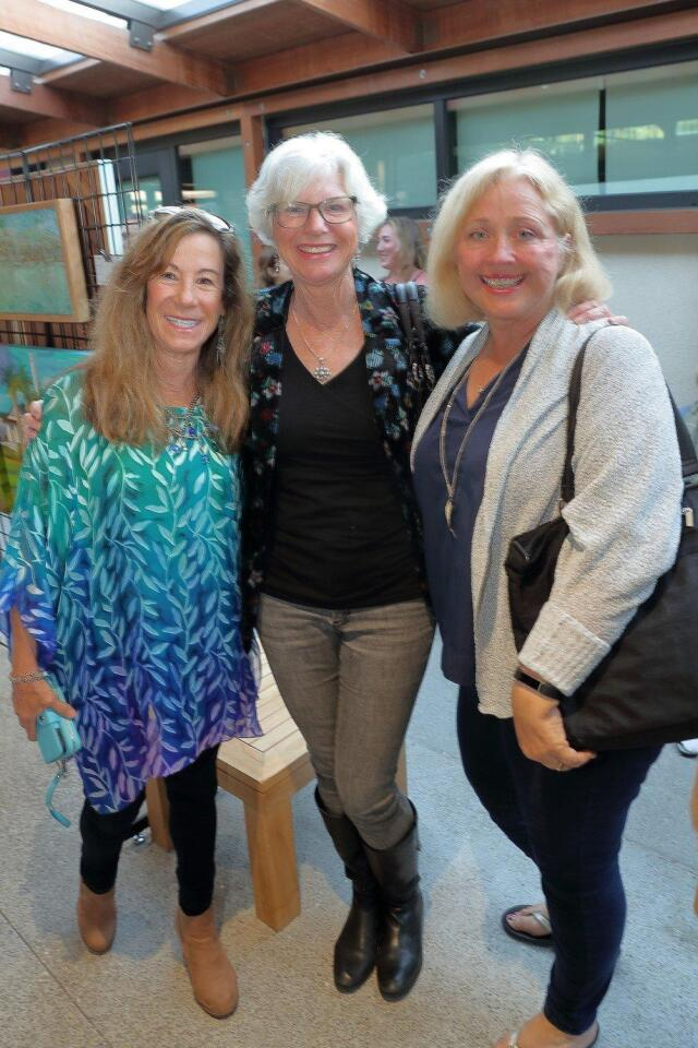 Del Mar Arts Committee hosts painting exhibitions