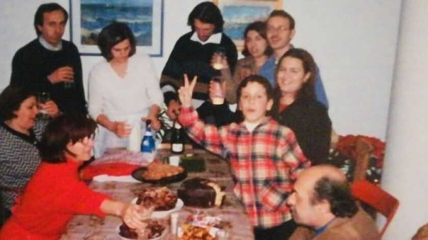 Chef Pietro Gallo's family holidays in Italy were boisterous and centered on food.