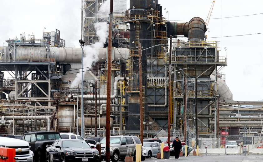 PBF Energy, a New Jersey-based company, acquired the Torrance refinery July 1 from Exxon Mobil. The deal closed after Exxon Mobil completed repairs to the plant following an explosion that destroyed a pollution control system in February 2015.